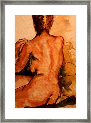 After The Bath Framed Print by Dan Earle