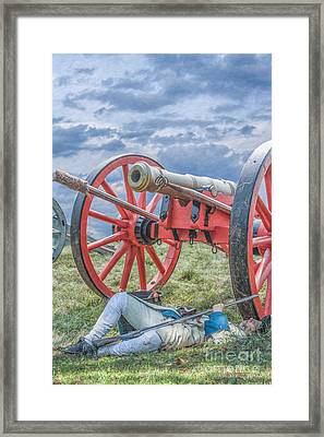 After The Battle Framed Print by Randy Steele