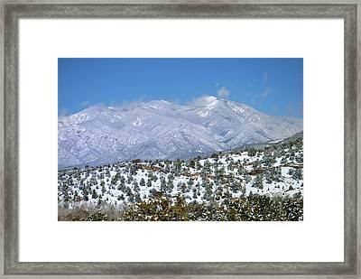 After The Blizzard Framed Print