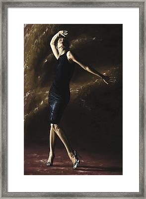 After The Dance Framed Print by Richard Young