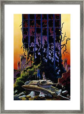 After The Flames Framed Print
