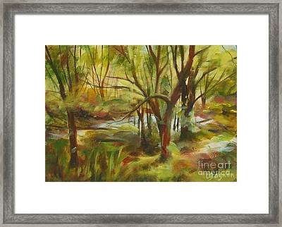 After The Flood Framed Print