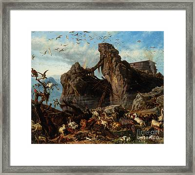After The Flood Framed Print by Celestial Images