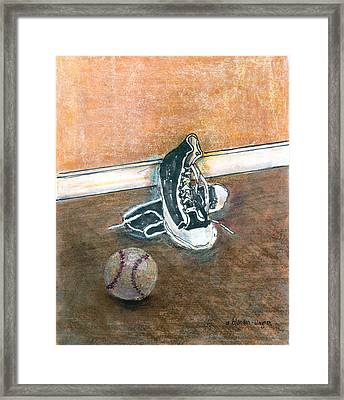 After The Game Framed Print by Arline Wagner