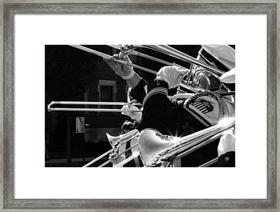 After The Game Framed Print by Coby Cooper