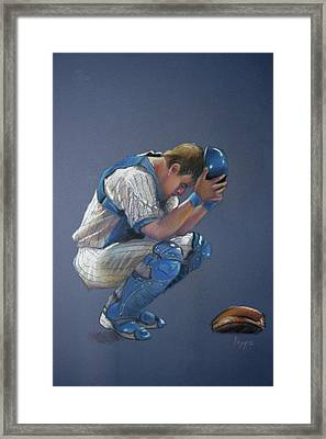 After The Game Framed Print by Steve Lappe