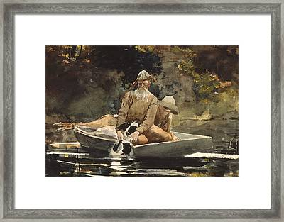 After The Hunt Framed Print by Winslow Homer