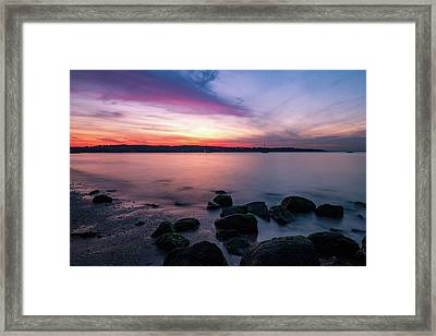 After The Light Framed Print