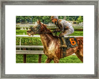 After The Mud Framed Print