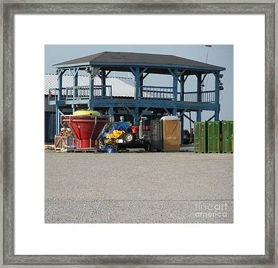 After The Oil Spill Framed Print by Joseph Baril