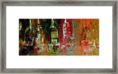 After The Party Framed Print by Lisa Kaiser