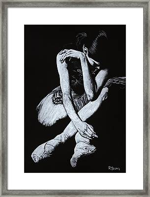 After The Performance Framed Print