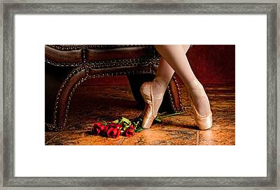 After The Performance Framed Print by Robert Arthur
