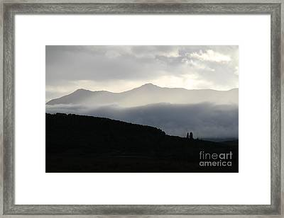 Framed Print featuring the photograph The Quiet Spirits by Ann E Robson