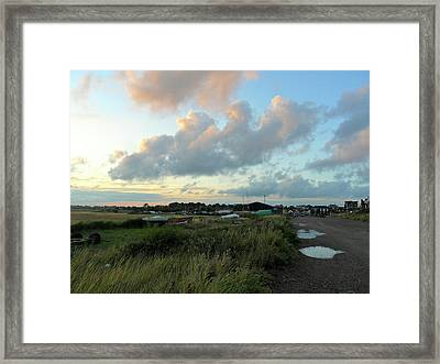 Framed Print featuring the photograph After The Rain by Anne Kotan