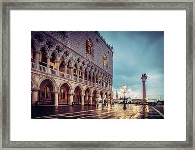 After The Rain At St. Mark's Framed Print