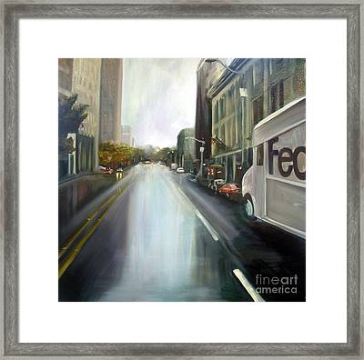 After The Rain Framed Print by Barbara Wilson