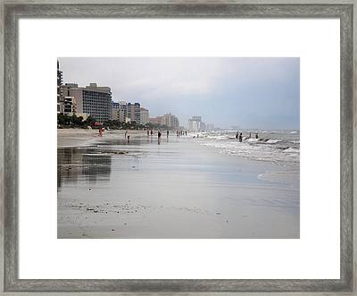 After The Rain Framed Print by Bill Noonan