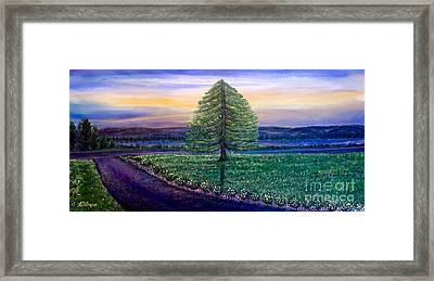 After The Rain Comes The Joy Framed Print