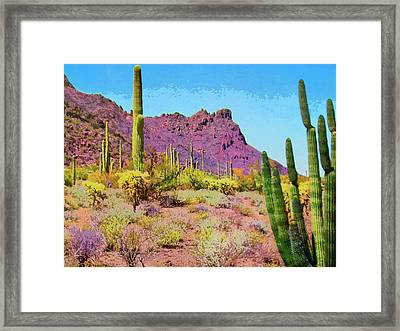 After The Rain Framed Print by Dominic Piperata
