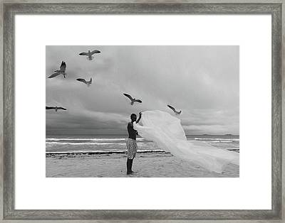 After The Rain Framed Print by Emil Bodourov