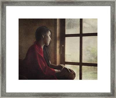 After The Rain Framed Print by Heru Agustiana