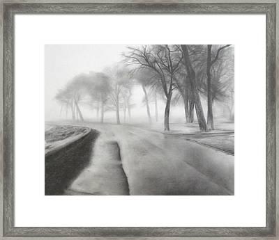 After The Rain Framed Print by Lauren Bigelow