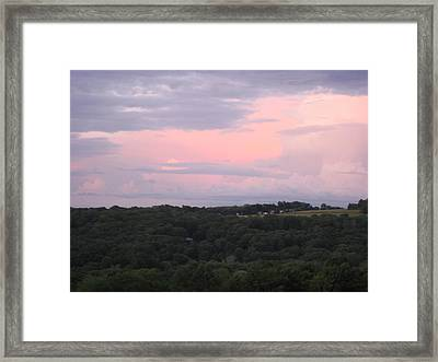 After The Rain Framed Print by Marcia Crispino