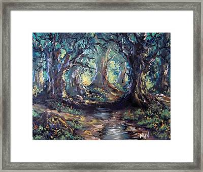 After The Rain Framed Print by Megan Walsh