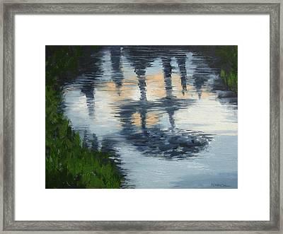 After The Rain Framed Print by Robert Rohrich