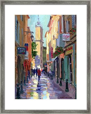 After The Rain Framed Print by Roelof Rossouw