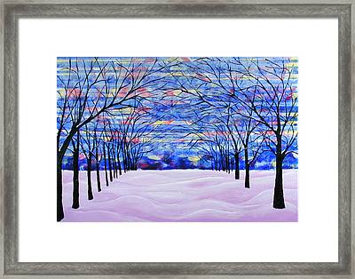 After The Snow Framed Print by Rollin Kocsis