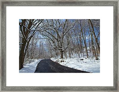 After The Snowfall Framed Print by Karol Livote