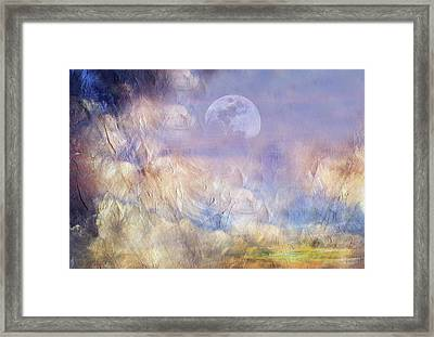 After The Storm Abstract Realism Framed Print