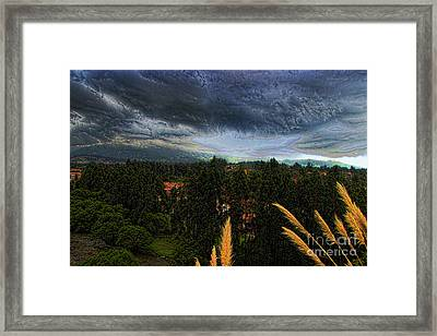 After The Storm Framed Print by Al Bourassa