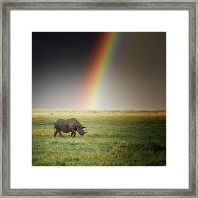 After The Storm Framed Print by Alain Gaymard