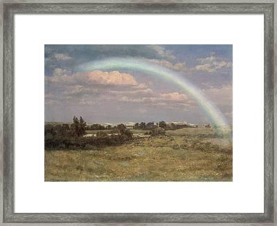 After The Storm Framed Print by Albert Bierstadt
