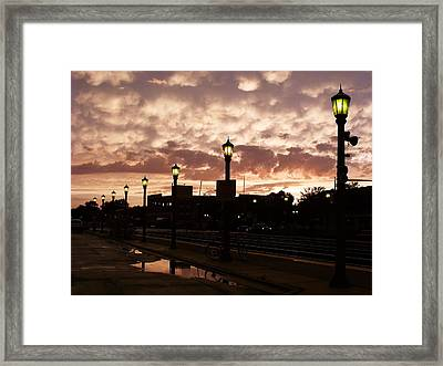 After The Storm Framed Print by Anna Villarreal Garbis