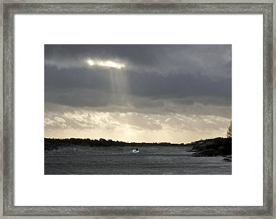 After The Storm Framed Print by Dan Andersson