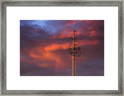 After The Storm Framed Print by Don Spenner