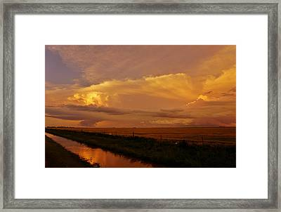Framed Print featuring the photograph After The Storm by Ed Sweeney
