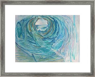After The Storm Framed Print by Gladiola Sotomayor