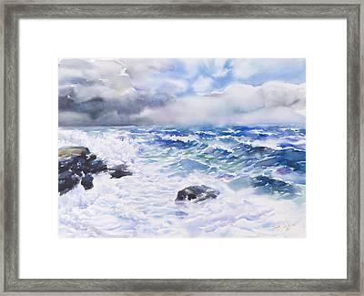 After The Storm Framed Print by Jack Tzekov