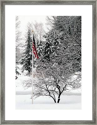Framed Print featuring the photograph After The Storm by John Scates