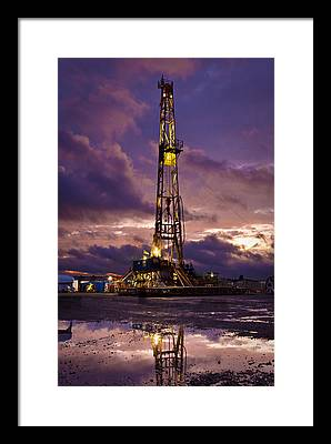 Petroleum Framed Prints