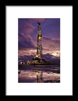 Drilling Framed Prints