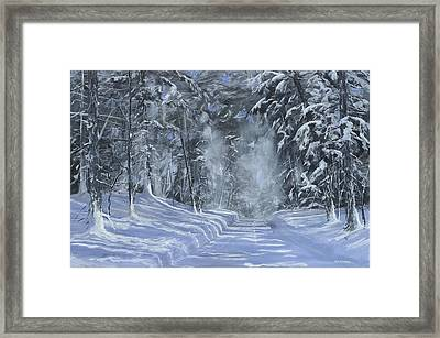 After The Storm Framed Print by Ken Ahlering