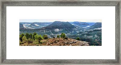 After The Storm Framed Print by Manuel Benito