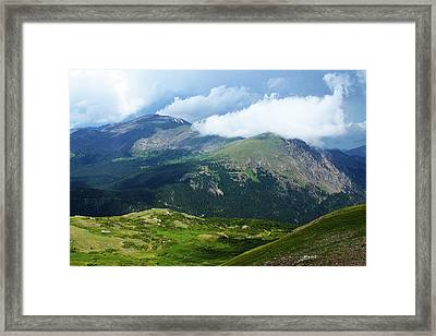 After The Storm Framed Print by Marie Leslie