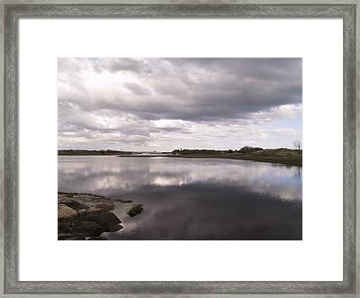 After The Storm Framed Print by Patricia McKay